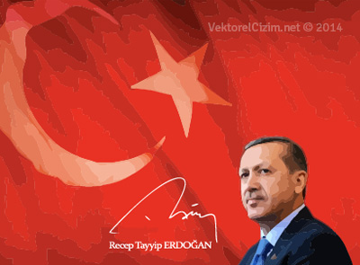 Cumhurbaşkanı Recep Tayyip Erdoğan, Türk Bayrağı