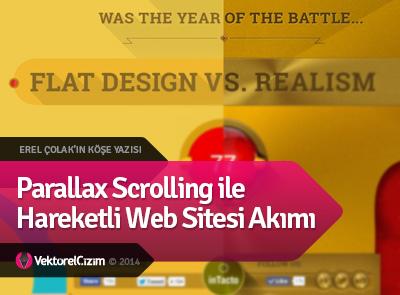 Parallax Scrolling ile Hareketli Web Sitesi Akımı