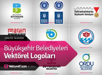 Büyükşehir Belediyeleri Vektörel Logoları