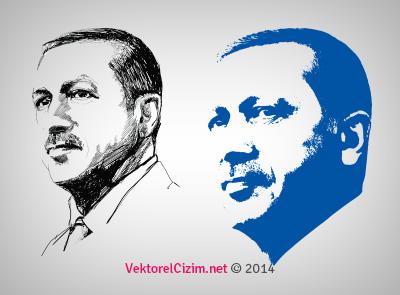 Recep Tayyip Erdoğan Portre
