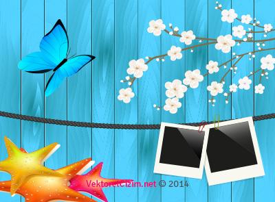 Polaroid, Bahar, Çiçek