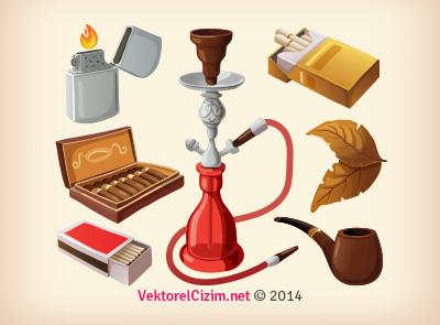 Tütüncü, Nargile, Sigara, Puro
