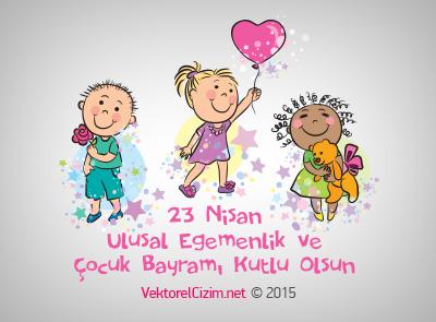 23 Nisan Ulusal Egemenlik ve Çocuk Bayramı Kutlaması
