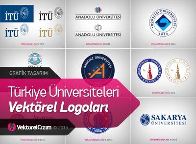 Türkiye Üniversiteleri Vektörel Logoları