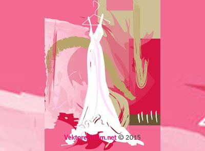 Askıda Elbise, Gelinlik