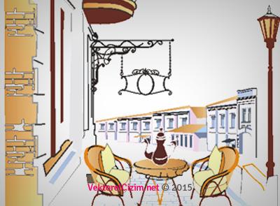 Cafe Dış Görünüş