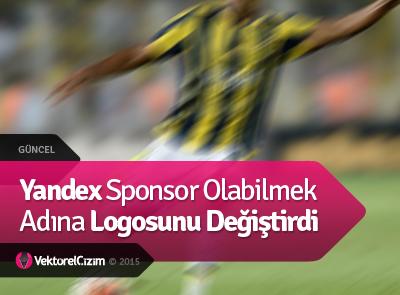 Fenerbahçe, Yandex'e Logosunu Değiştirtti