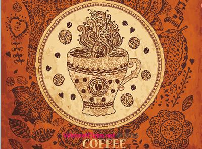 Kahve, Coffee. Pattern, Background