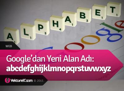 Google abcdefghijklmnopqrstuvwxyz.com Alan Adını Satın Aldı