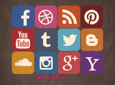 Sosyal Medya Icon Seti