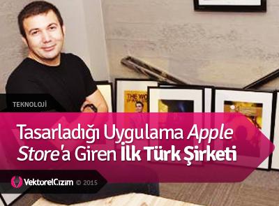 Tasarladığı Uygulama Apple Store'a Giren İlk Türk Şirketi