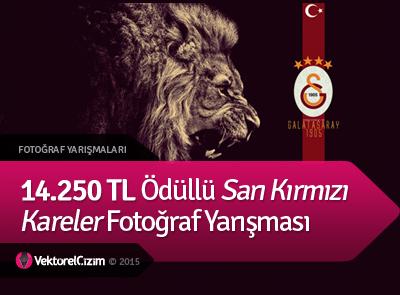 14.250 TL Ödüllü Sarı Kırmızı Kareler Fotoğraf Yarışması