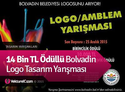 14 Bin TL Ödüllü Bolvadin Logo Tasarım Yarışması