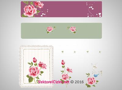 Çiçekli Banner Çeşitleri
