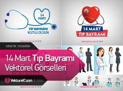 14 Mart Tıp Bayramı Görselleri