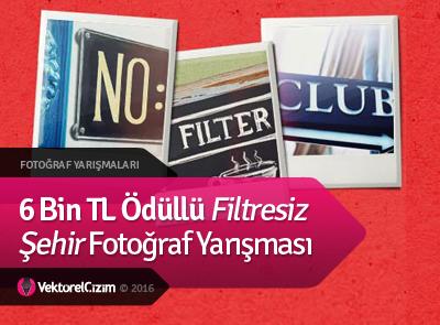 6 Bin TL Ödüllü Filtresiz Şehir Fotoğraf Yarışması