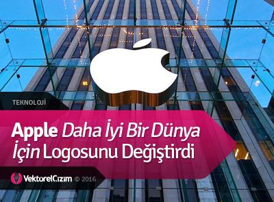 Apple Daha İyi Bir Dünya İçin Logosunu Değiştirdi
