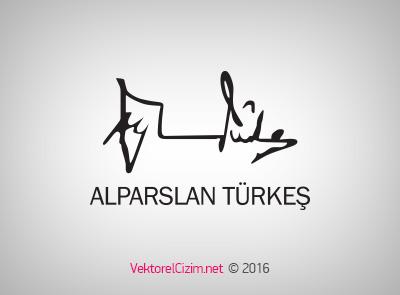 Alparslan Türkeş İmzası