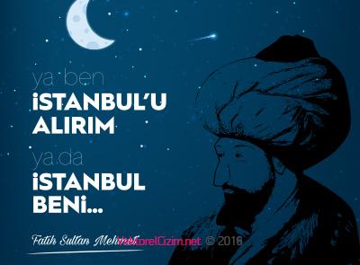 İstanbul'un Fethi Vektörel Görselleri