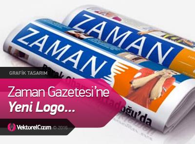 Zaman Gazetesi'ne Yeni Logo...