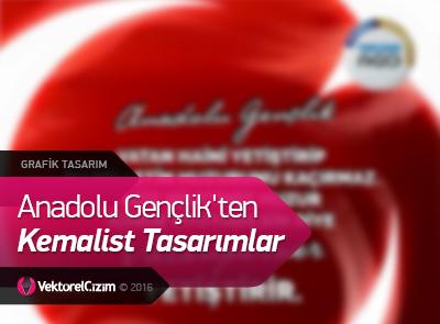 Anadolu Gençlik'ten Kemalist Tasarımlar