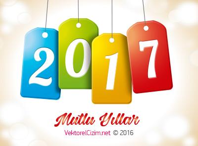 2017 Etiketli Mutlu Yıllar