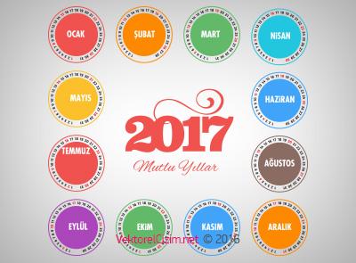 2017 Takvimi, Mutlu Yıllar