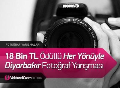 18 Bin TL Ödüllü Her Yönüyle Diyarbakır Fotoğraf Yarışması
