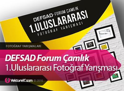 219 Adet Ödüllü DEFSAD Forum Çamlık 1.Uluslararası Fotoğraf Yarışması