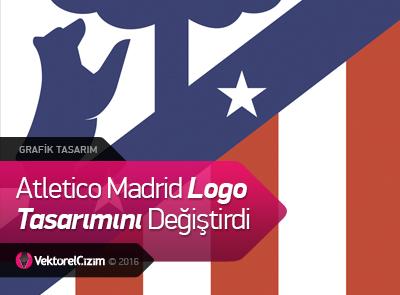 Atletico Madrid Logo Tasarımını Değiştirdi