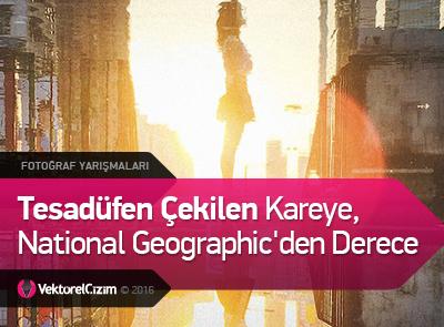 Tesadüfen Çekilen Kareye, National Geographic'in Yarışmasında Derece
