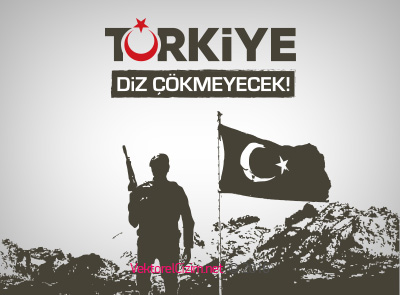 Türkiye Diz Çökmeyecek!