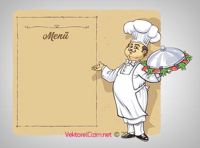 Cafe, Restaurant, Aşçı, Menü