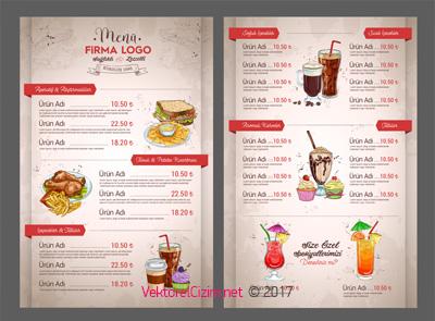 Restautant, Cafe, Lokanta, Menü