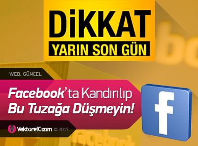 DİKKAT! Facebook'ta Bu Oyuna Gelip Kandırılmayın