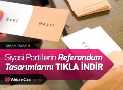 Referandum Süreci Tasarımları ve Kampanya Görselleri