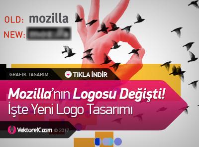 Mozilla'nın Logosu Değişti! İşte Yeni Logo