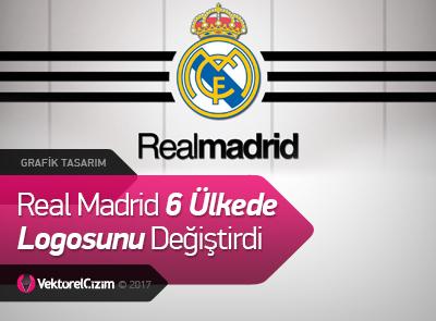 Real Madrid Logosunu Değiştirdi