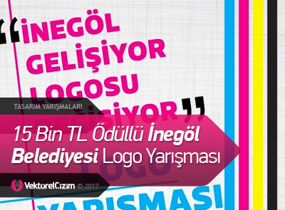 15 Bin TL Ödüllü İnegöl Belediyesi Logo Tasarım Yarışması