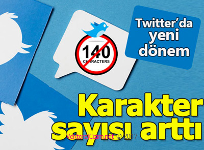 Twitter'ın 140 Karakter Sınırı Değişti