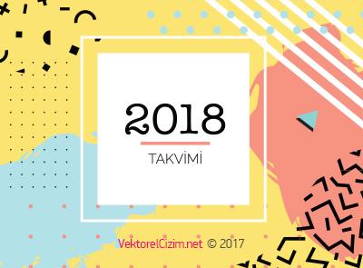 2018 Takvimi