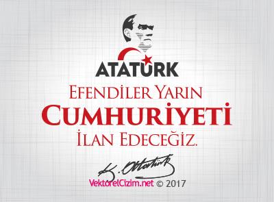 29 Ekim Cumhuriyet Bayramı, Atatürk