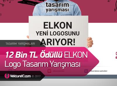 12 Bin TL Ödüllü ELKON Logo Tasarım Yarışması