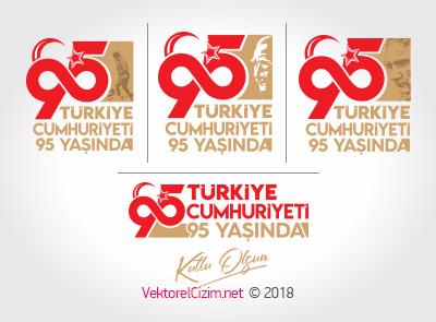 Türkiye Cumhuriyeti 95 Yaşında