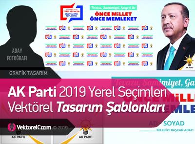 AK Parti 2019 Yerel Seçimleri Tasarım Şablonları