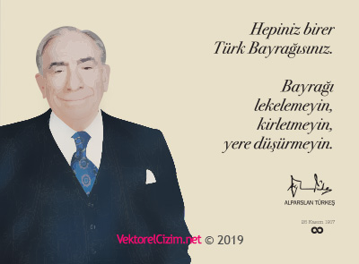 Başbuğ Alparslan Türkeş, Türk Bayrağı Sözü